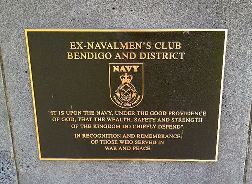 Ex-Navalmen`s Club Plaque : November 2013