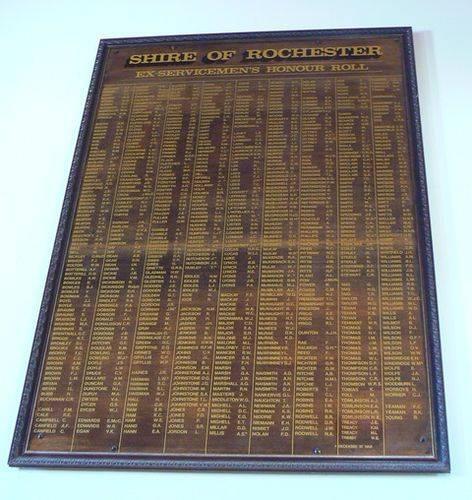 Ex-servicemen`s Honour Roll : 27-April-2013