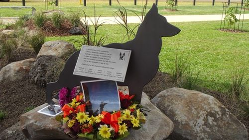 Explosive Detection Dogs Memorial : 05-07-2013