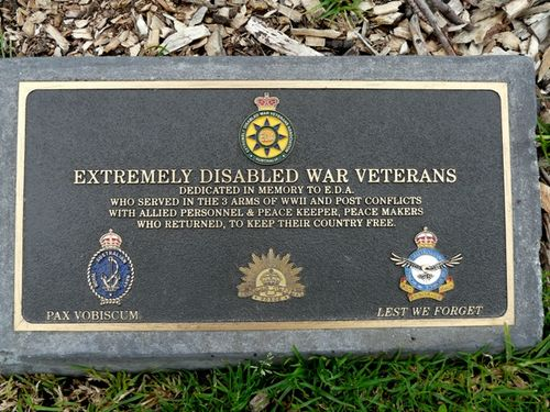 Extremely Disabled War Veterans : 25-September-2011
