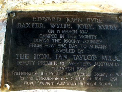 Eyre Baxter + Wylie Inscription