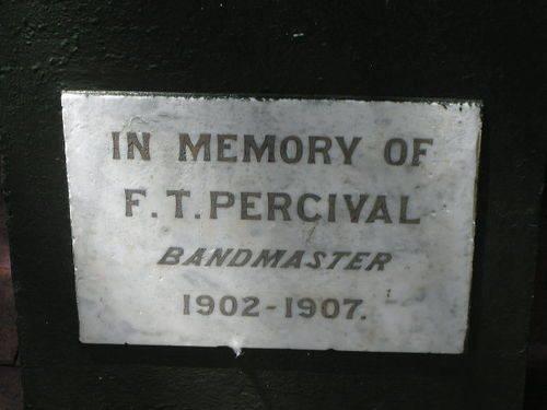 F.T. Percival / March 2013