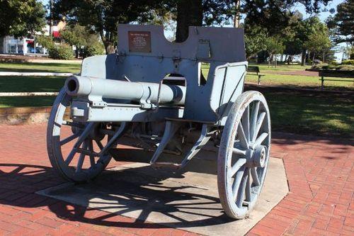 06-May-2012 : Gun at original location (Roger Johnson)