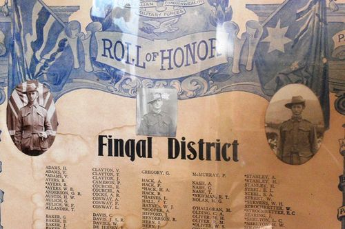 Fingal District Roll of Honour : 19-March-2012