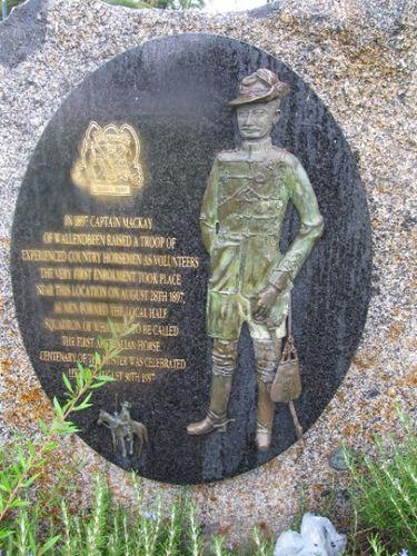 First Australian Horse Memorial : 28-January-2011