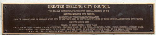 First Greater Geelong Council Meeting : 28-August-2011