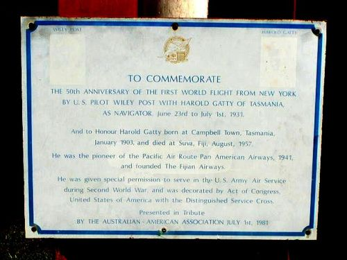 50th Anniversary Plaque : 2007