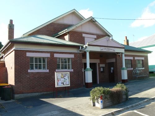 Fish Creek Memorial Hall : 15-April-2013