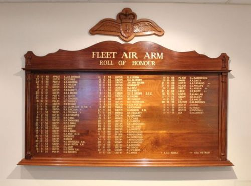 Fleet Air Arm Roll of Honour : 10-July-2011