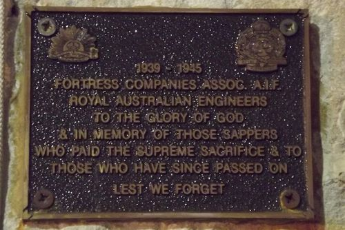 Fortress Assoc Plaque : March 2014