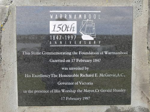 Foundation of Warrnambool : 14-June-2011