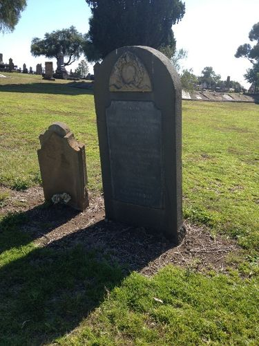 Franics McCrone Tombstone : November 2013
