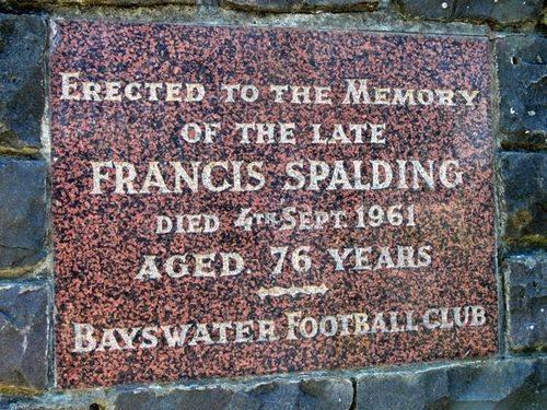 Francis Spalding : 26-November-2011