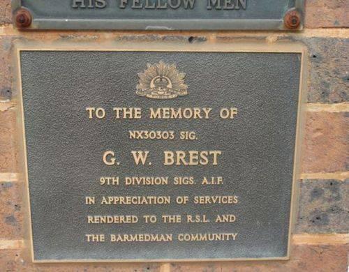 G. W. Brest : 19-July-2011
