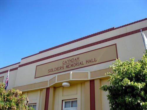 Gayndah Soldiers Memorial Hall 2 : 01-10-2009