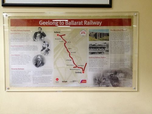 Geelong -Ballarat Rail : October 2013