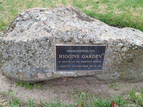 Geoffrey Higgins : Apri 2014