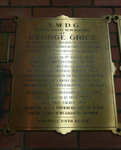 George Grice : 25-April-2012