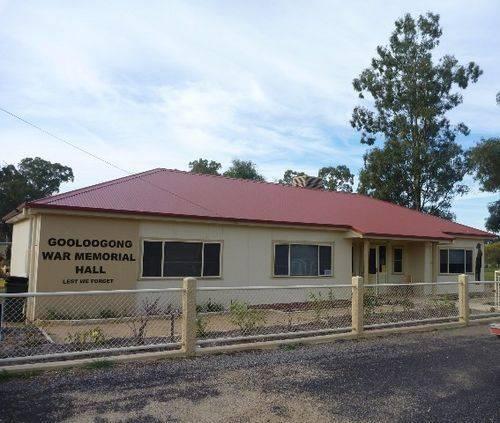 Gooloogong War Memorial Hall : 24-April-2011