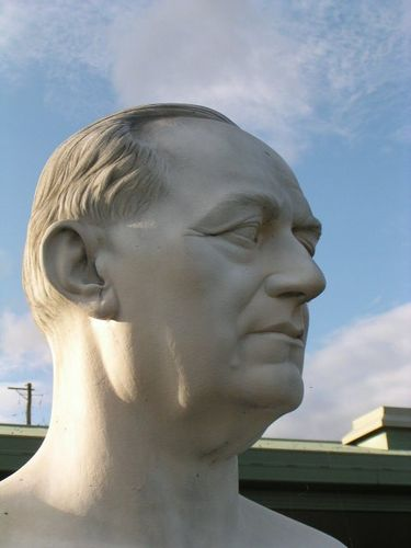 Gugliemo Marconi  Head Closeup