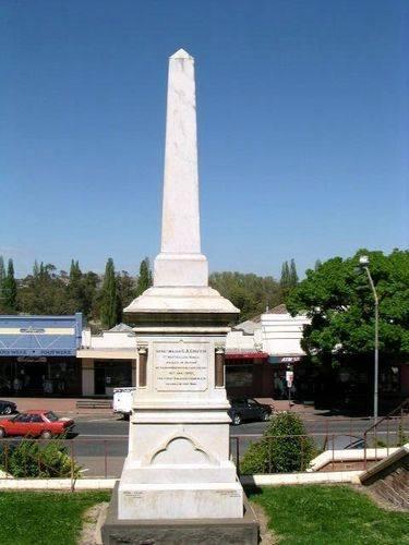 Gundagai Boer War Memorial