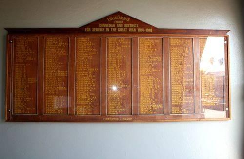 Gunnedah Honour Roll 3 : 09-04-2014