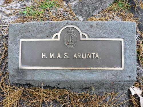 H.M.A.S. Arunta : 24-October-2011