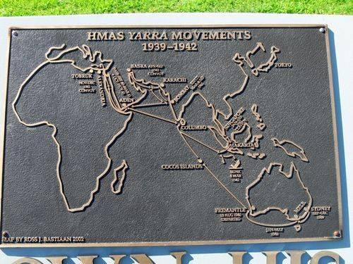 H.M.A.S. Yarra : 16-September-2012