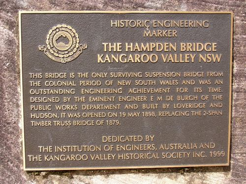 Historic Engineering Marker : 20-March-2013
