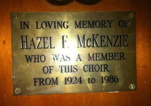 Hazel McKenzie : 12-July-2012