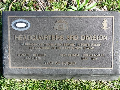 Headquarters 3rd Division : 04-October-2011