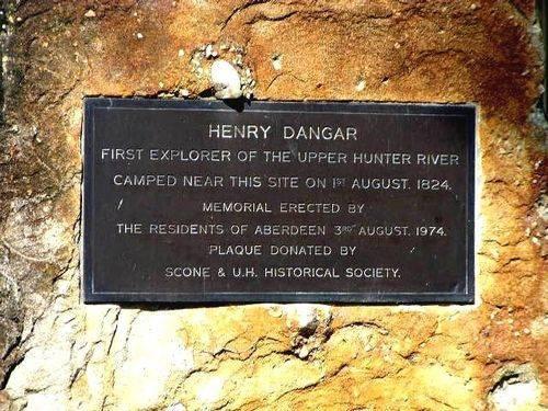 Henry Dangar Inscription