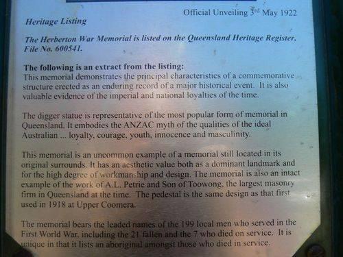 Heritage Listing