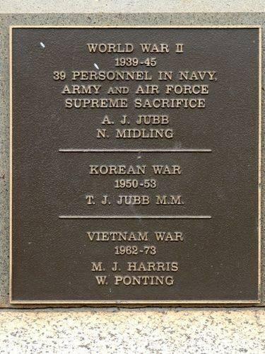 Hexham War Memorial : 17-February-2012