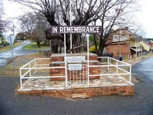 Hill End War Memorial