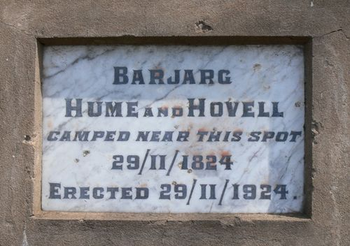Hume & Hovell : 20-October-2011