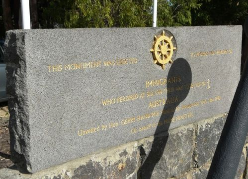 Immigrants Monument : 21-April-2012