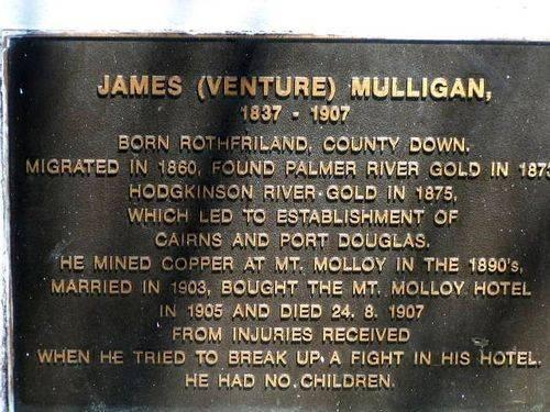 James Mulligan Plaque