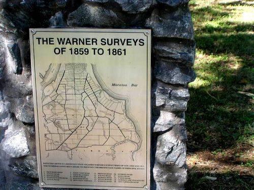 James Warner Survey Plaque