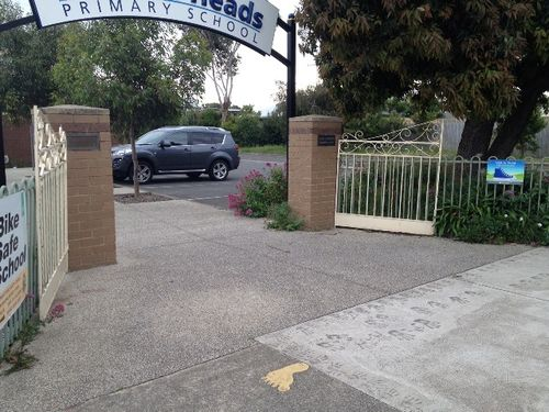 Jessie McKechnie Memorial Gates : December 2013