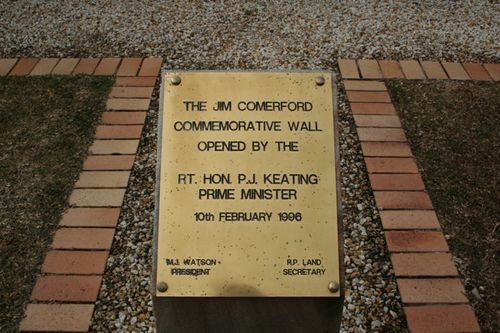 Comerford Memorial Wall Plaque : 09-August-2014
