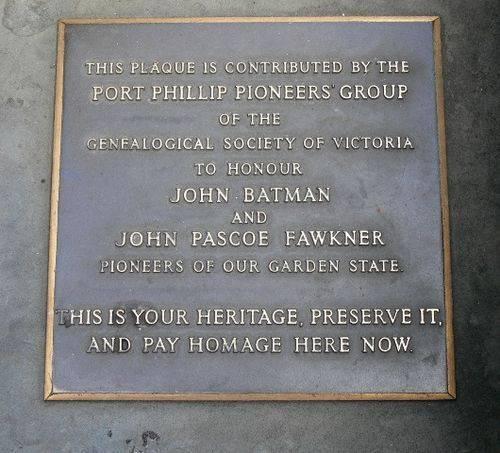 John Batman & John Pascoe Fawkner