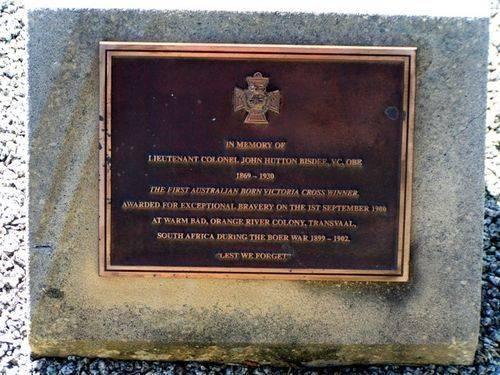 John Bisdee Memorial