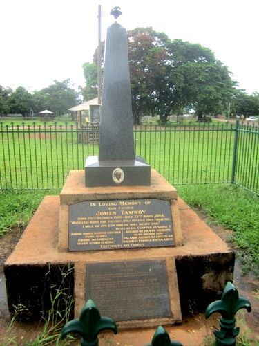 Jomen Tamwoy Commemorative Plaque : 05-03-2013
