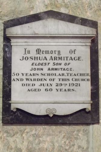 Joshua Armitage : March 2014