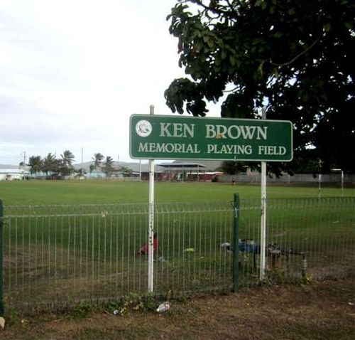 Ken Brown Memorial Playing Field : 22-07-2013