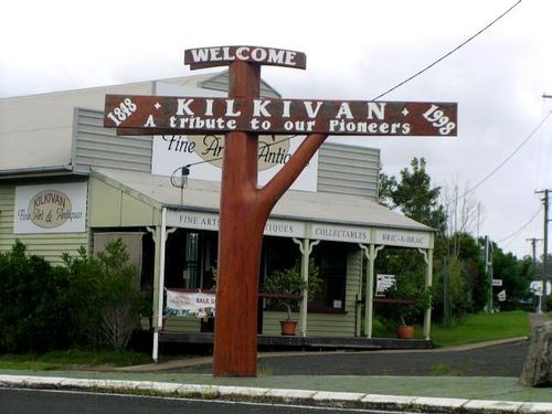 Kilkivan 150th Anniversary Sign / March 2013