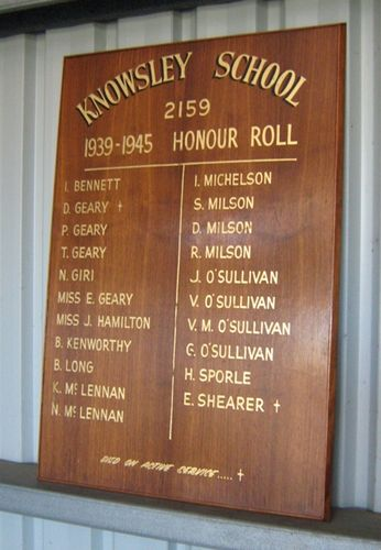 Knowsley State School Honour Roll : 26-February-2013