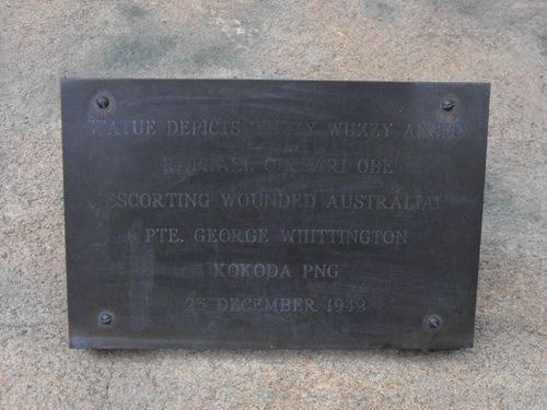Kokoda Memorial Inscription 2 / May 2013