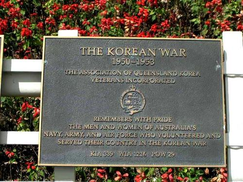 Korean War Plaque / March 2013